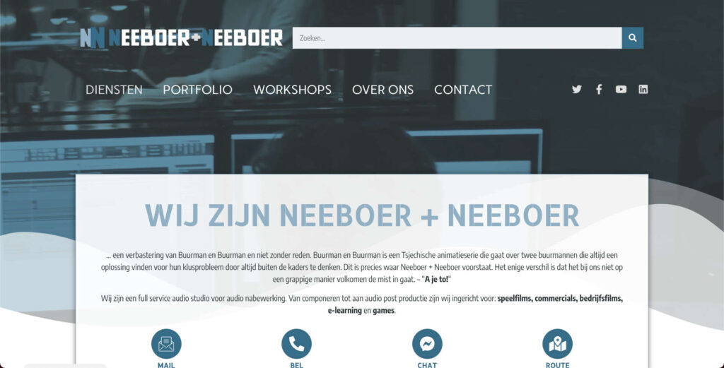 Nieuwe website - nieuwe website